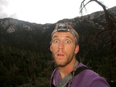 Rock Climbing Photo: hiking up to suicide 5:45am to climb as the sun ca...