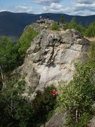 Rock Climbing Photo: Kennan running laps on the climb that shuts so man...