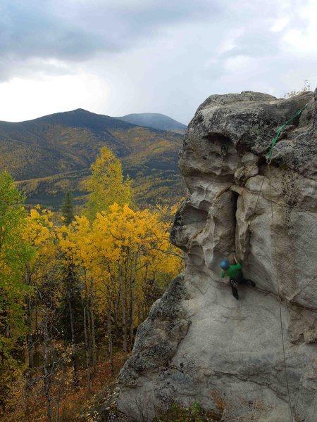 Rock Climbing Photo: Erica's turn!