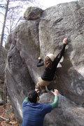 Rock Climbing Photo: Erica on Venom