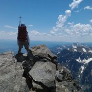 Rock Climbing Photo: Buck Mountain, Grand Teton