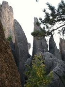Rock Climbing Photo: twin spires