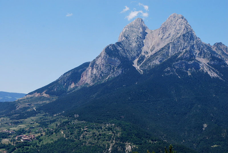 Pedraforca huge south face