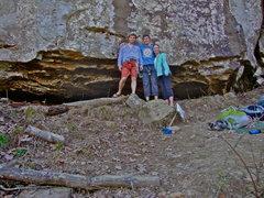 Rock Climbing Photo: Great end to a long spring break in Arkansas; circ...