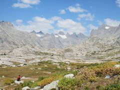 Rock Climbing Photo: Titcomb basin