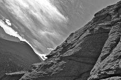 Rock Climbing Photo: Climbing at Jurassic Park-Lily Lake up at Estes Pa...