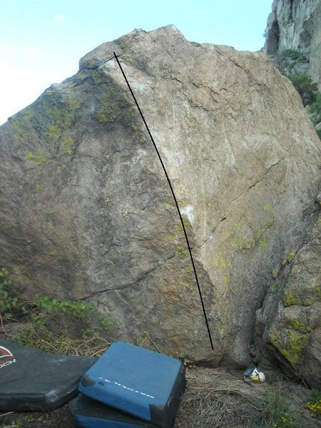 Rock Climbing Photo: Almost a Boulder.