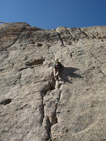 Rock Climbing Photo: Perfect Weather.