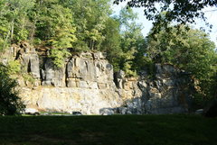 Rock Climbing Photo: Goliath wall