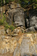 Rock Climbing Photo: The 5.6 super easy but fun if your new to lead cli...