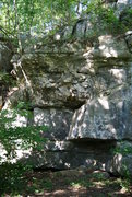 Rock Climbing Photo: Haven't tried any of the climbs on this wall. I do...