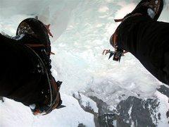 Rock Climbing Photo: broken bail