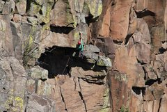 Rock Climbing Photo: trinity roof 2