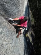 Rock Climbing Photo: Working one of many projects on Lookout Point.