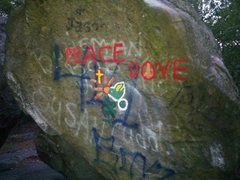 Rock Climbing Photo: It looks like the Peace Dove got a makeover at som...