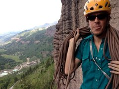 Rock Climbing Photo: Westward view from atop P3 of Skylight Arete/Ame's...