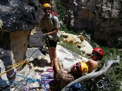 Rock Climbing Photo: Linked P1&P2 but couldn't find what seemed like th...