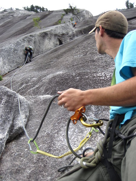 Rock Climbing Photo: The 1st Money pitch on Diedre.