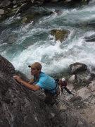 Rock Climbing Photo: Pristine surroundings.