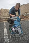 Rock Climbing Photo: Puppy pack.