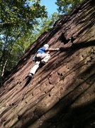 Rock Climbing Photo: Al carilli rope solo on scarecrow
