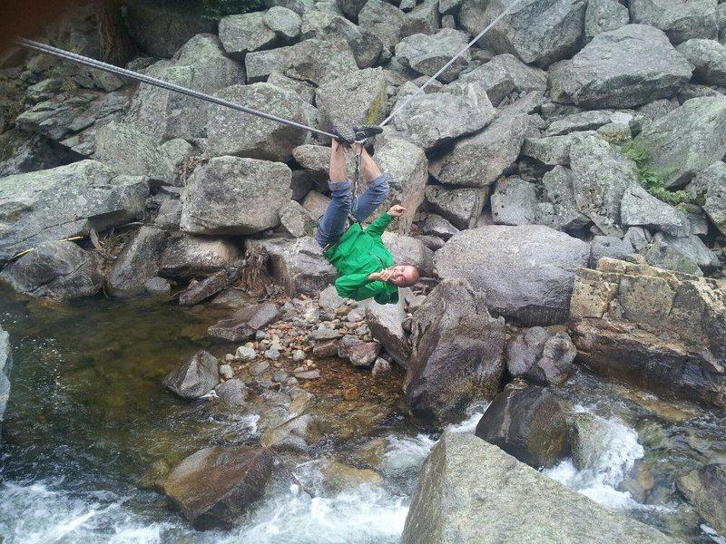 Rock Climbing Photo: Adam Miller, first approach in Colorado soon follo...