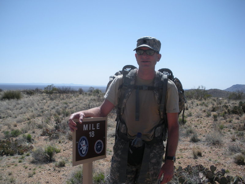 Rock Climbing Photo: Mike while on Active Duty in the Military 2 years ...