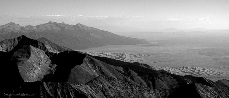 Summit view - Sandunes!
