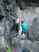 Rock Climbing Photo: Belay