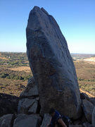 Rock Climbing Photo: Middle Finger, front and center. Orthanc to the ri...