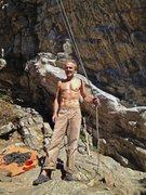 Rock Climbing Photo: Power Trip, pump me up.