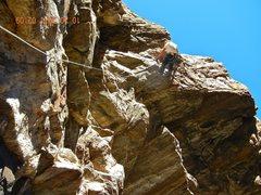 Rock Climbing Photo: Macho great climb thanks Darren.