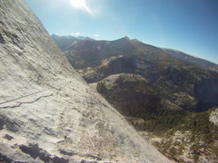Rock Climbing Photo: Pitch 3 (or Pitch 2 if you're linking pitches) - F...