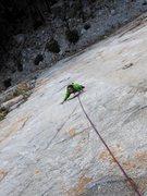 Rock Climbing Photo: Tears of Joy - North Face Apron of MCR