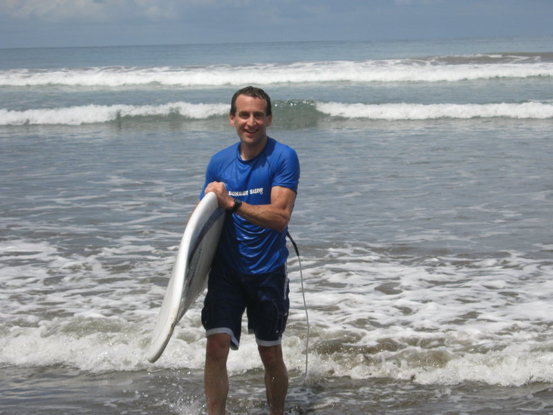 Surfing at Domincal, C.R.