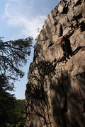 Rock Climbing Photo: Middle Finger Backside  Pleasant Dreams (5.8)mixed...