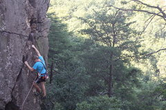 Rock Climbing Photo: The Fortress  Matthew Stephens(13) 'pinkpoints'  F...