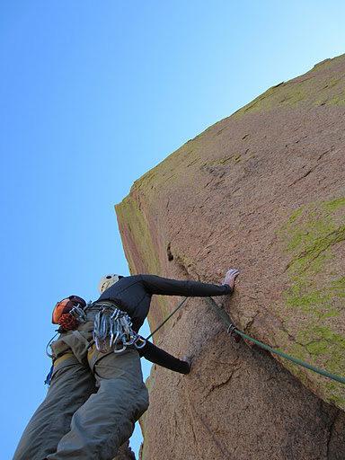Rock Climbing Photo: The start of Stiletto. Go do this thing!  Photo: G...