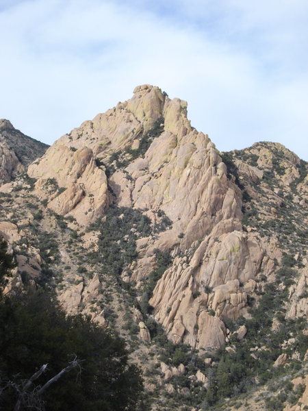 Rock Climbing Photo: I think this is Hurt Butt Buttress, taken from Roc...