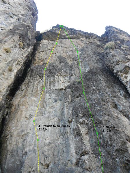 Rock Climbing Photo: shakis 5.10b