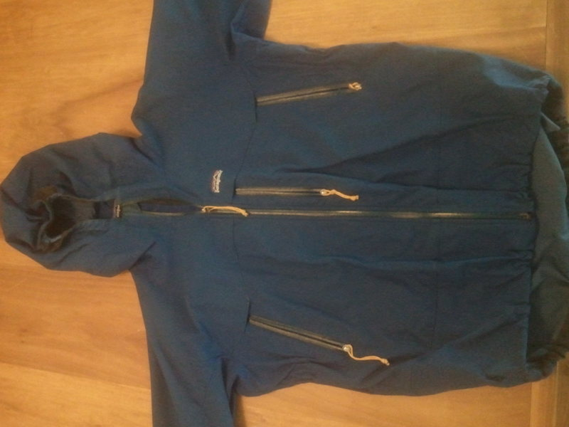 Patagonia Guide softshell jacket.  Used but good condition.  Makes a great skiing or alpine climbing shell.  Size Large. $80.
