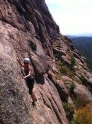 Rock Climbing Photo: Maria Gaibar Alonso on Poaching Lane.  Copyright C...