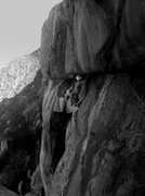 Rock Climbing Photo: b/w beauty