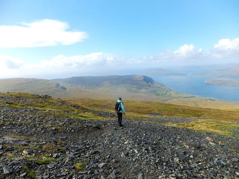 What Next ... after  282 Munros?  View from the last... Ben More ..Isle of Mull.Photo Pete Armstrong