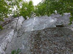 Rock Climbing Photo: Sweet, short pitch.