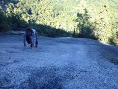 Rock Climbing Photo: The Platinum Slab