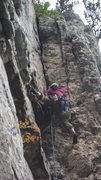 Rock Climbing Photo: N.A. cruising Bee Sting