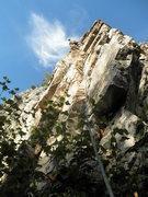 Rock Climbing Photo: Tim Beechethy leading, 09/15/2012
