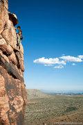 Rock Climbing Photo: Jason Molina on Practice Crack  mattkuehlphoto.com