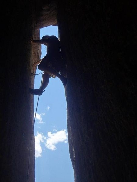Rock Climbing Photo: secret